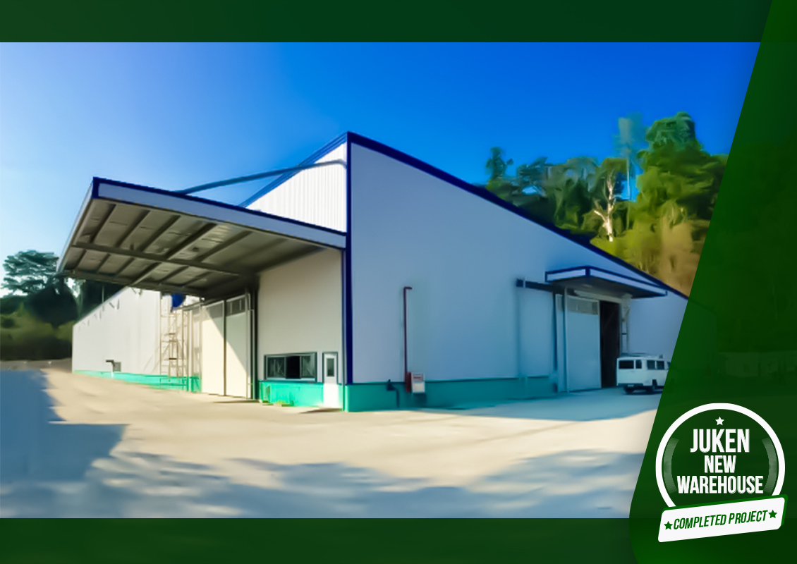 NEWLY COMPLETED PROJECT – JUKEN NEW WAREHOUSE