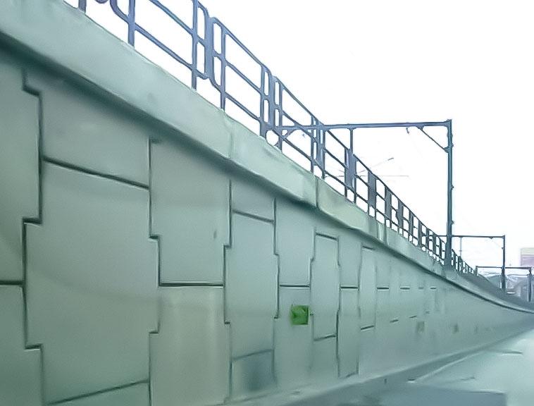 Edsa-Estrella Flyover MSE Wall